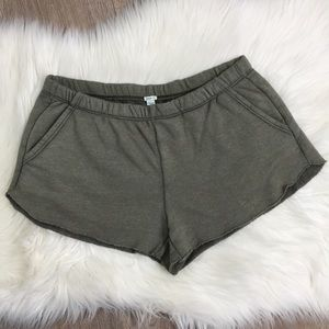 🔥2 for $40🔥 Aerie Olive Green Sweatshorts